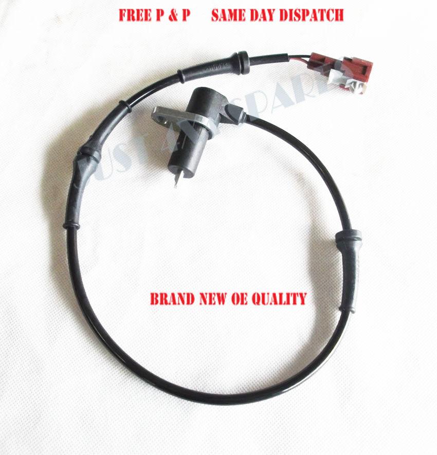 FOR NISSAN TERRANO R20 2.7 3.0 TDi DiTD 96-06 REAR ABS BRAKE SENSORS PAIR