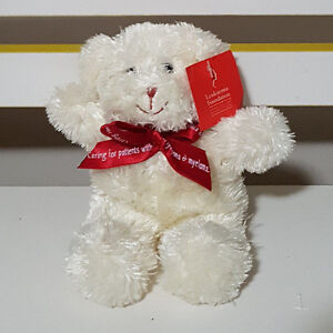 LEUKAEMIA-FOUNDATION-CHARITY-TEDDY-BEAR-PLUSH-TOY-SOFT-TOY-WITH-RIBBON-AND-TAG