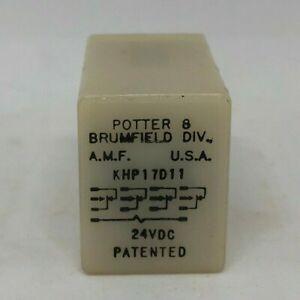 KHP17011-4-POLES-DOUBLE-TROW-24VDC-COIL-Potter-amp-Brumfield-29