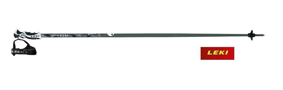 Leki Dark Vision Alpine Ski Pole Trigger S LINE (638-4809) Olive