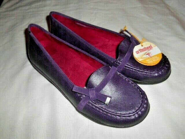 New With Tag Orthaheel Purple Mae Slip On Loafers Shoes Women's US 11 M EU 42