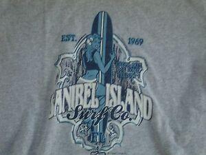 63b5d57252b7a Sanibel Island Surf Co. Skateboarding Surfboard T Shirt Men s Size S ...