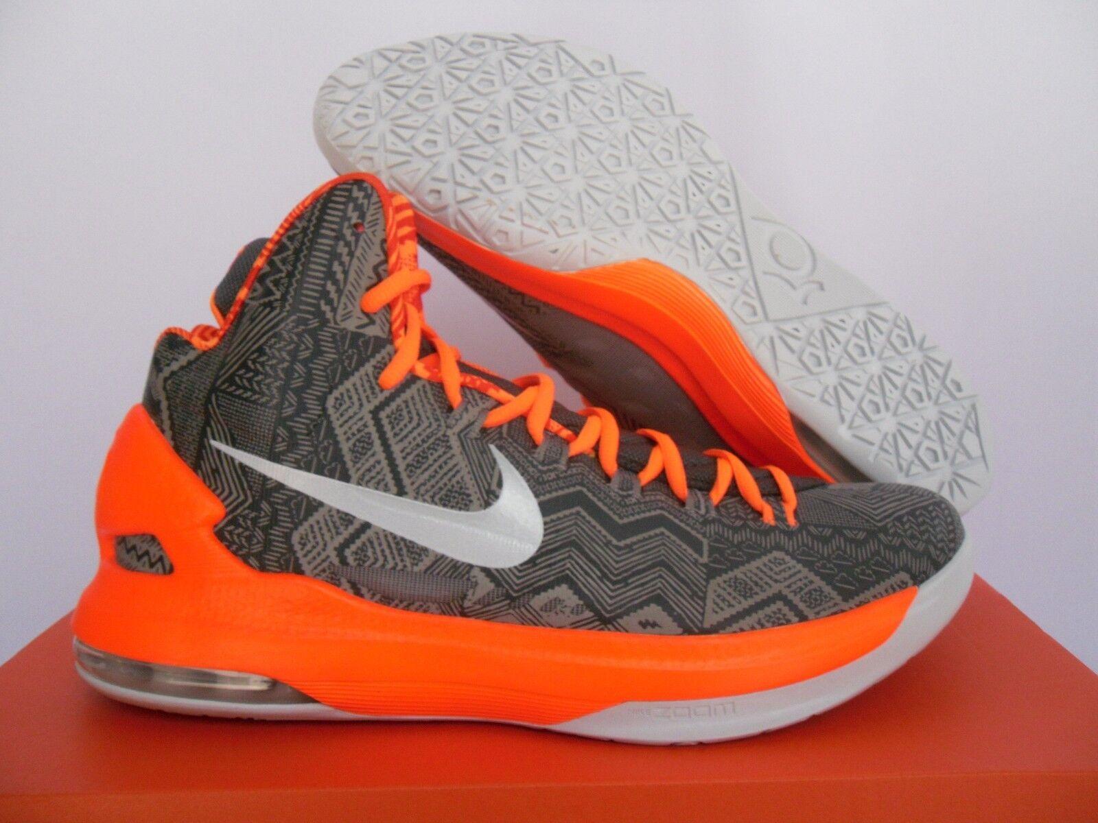 Nike de KD V 5 BHM antracita Negro-Gris-Naranja reducción de Nike precios con gran descuento 419395