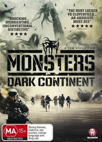 1 of 1 - Monsters - Dark Continent (DVD, 2015)