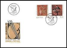 Portugal 1975 Mi 1281-82 FDC Union Europa Cept Painting Gemälde Peinture Art