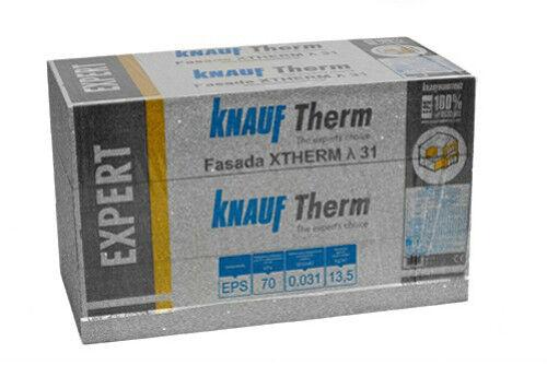 100 m² KNAUF Therm System Fassadendämmung Neopor WLG 031 / 120 mm