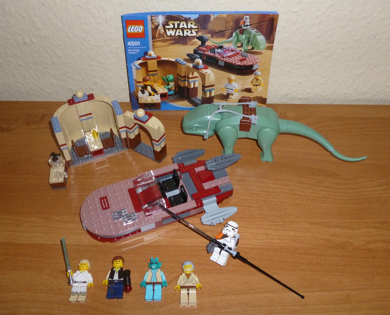 LEGO Star Wars   4501 Mos Eisley Cantina, komplett mit Figuren und BA