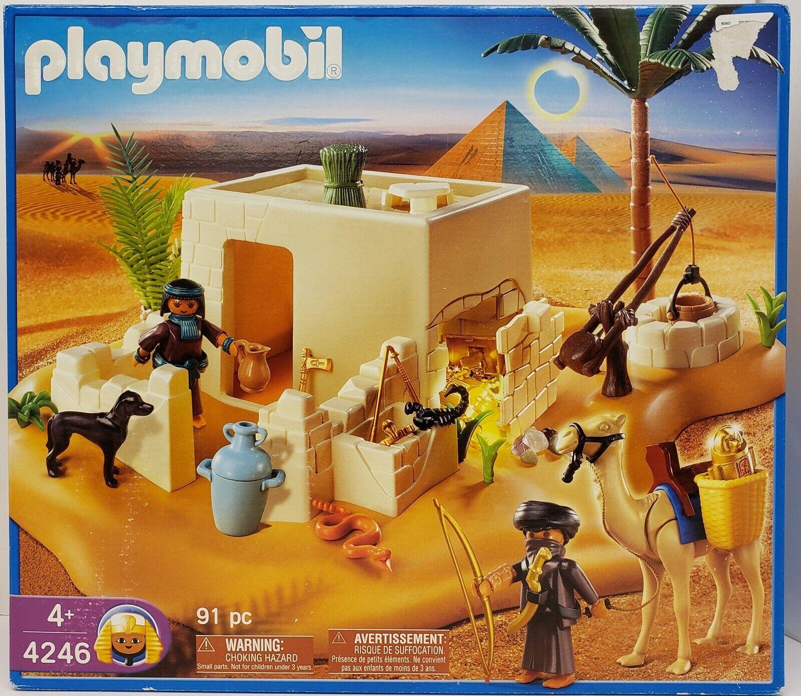 2009 PLAYMOBIL 91 PIECE EGYPTIAN  4246 PLAY SETNEW & SEALEDMADE GERMANY