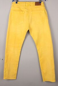 GANT Hommes Chip Conique Jambe Slim Jeans Extensible Taille W36 L32 BCZ932