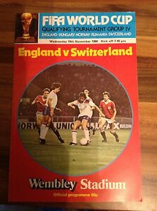 ENGLAND V SWITZERLAND PROGRAMME 191180 PLUS SMALL NEWSPAPER CLIPPING - <span itemprop=availableAtOrFrom>Erskine, United Kingdom</span> - ENGLAND V SWITZERLAND PROGRAMME 191180 PLUS SMALL NEWSPAPER CLIPPING - Erskine, United Kingdom
