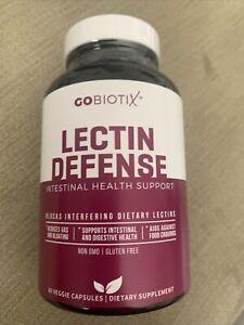 GOBIOTIX LECTIN DEFENSE, 60 Veggie Capsules, Brand New, Not Open, Exp 10/22