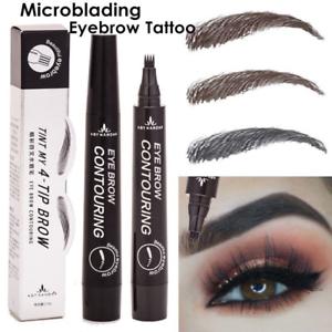 Microblading-Eyebrow-Pen-Waterproof-Fork-Tip-Tattoo-Long-Lasting-Eye-Brow-Pencil