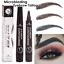 Microblading-Eyebrow-Pen-Waterproof-Fork-Tip-Tattoo-Long-Lasting-Eye-Brow-Pencil miniature 1