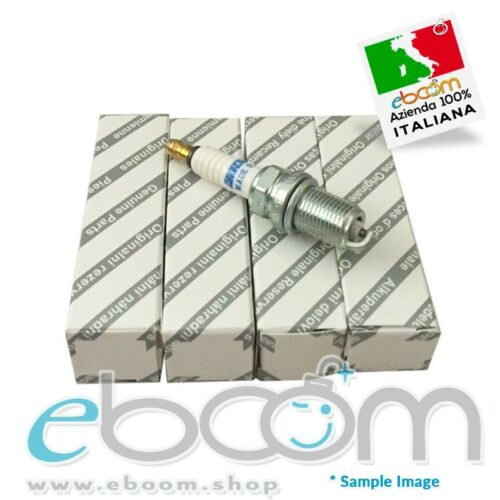 4 x 46750545 4 Candele Originali Fiat codice Punto Marea Y Bravo//a Idea 1.2 16V