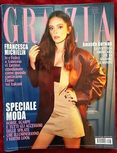 AD139 FASHION MAGAZINE GRAZIA 7 2021 RAFFAELLA CARRA' FRANCESCA MICHIELIN GORMAN