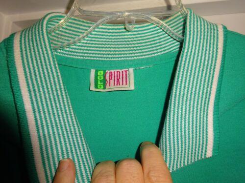 Medium Capri Capri Set Bold a Size corte corta 2 manica Green Camicetta e maniche Spirit vqPwg6