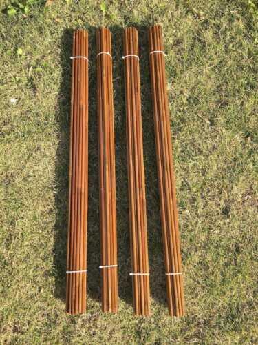 """84cm 100pcs NewTonkin Bamboo arrow shaft  handmade 65-70# 33/"""" long only shafts"""