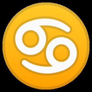www.♋.com - Extremely RARE Single Character .Com Emoji Domain - 69 Cancer yin/yg