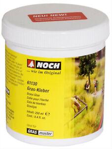 Noch-61130-100g-2-00-Gras-Kleber-250-g-spezieller-Kleber-Modelleisenbahn