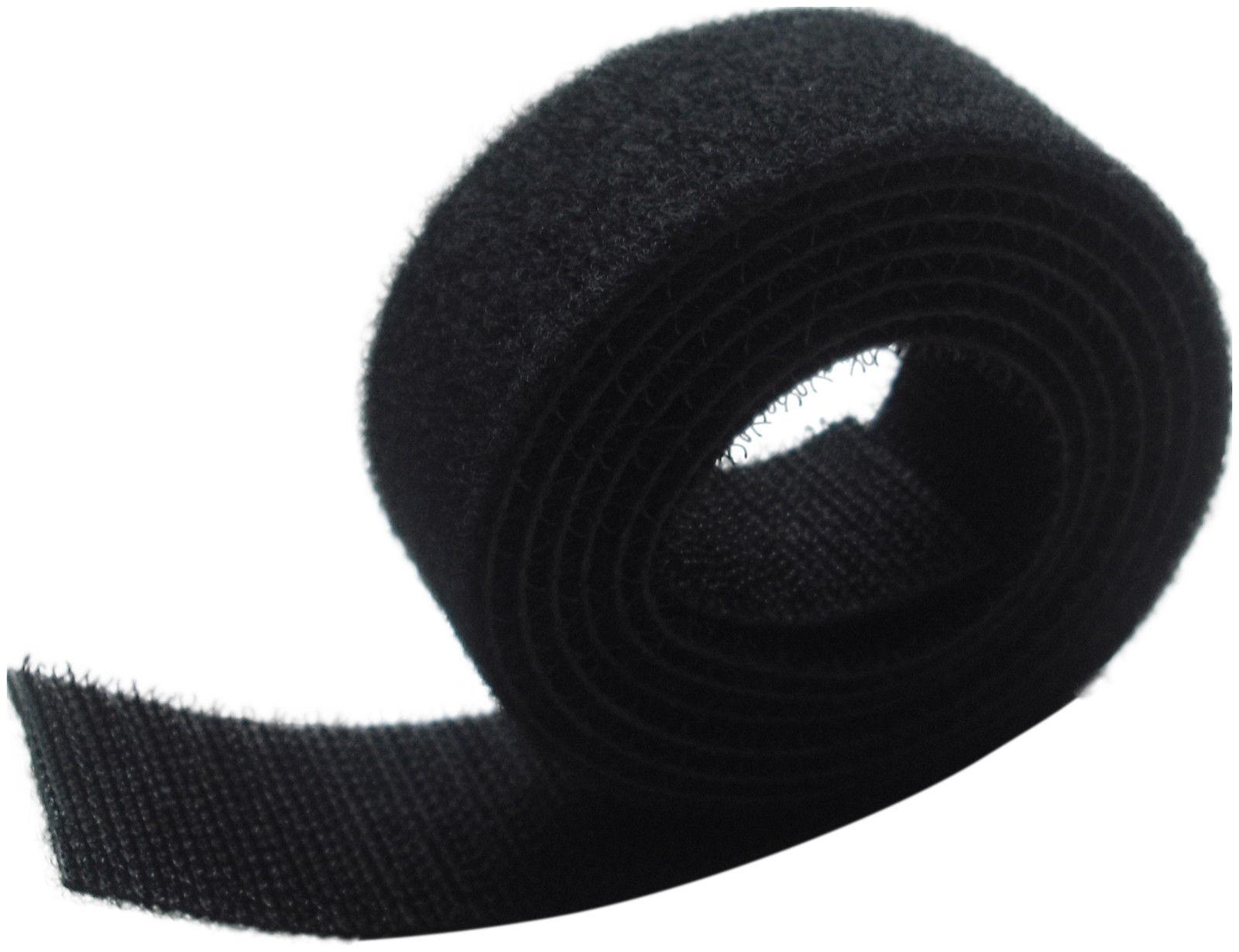 SELF GRIP HOOK & LOOP CABLE TIES 50MM WIDE STRAPPING X 1M LONG