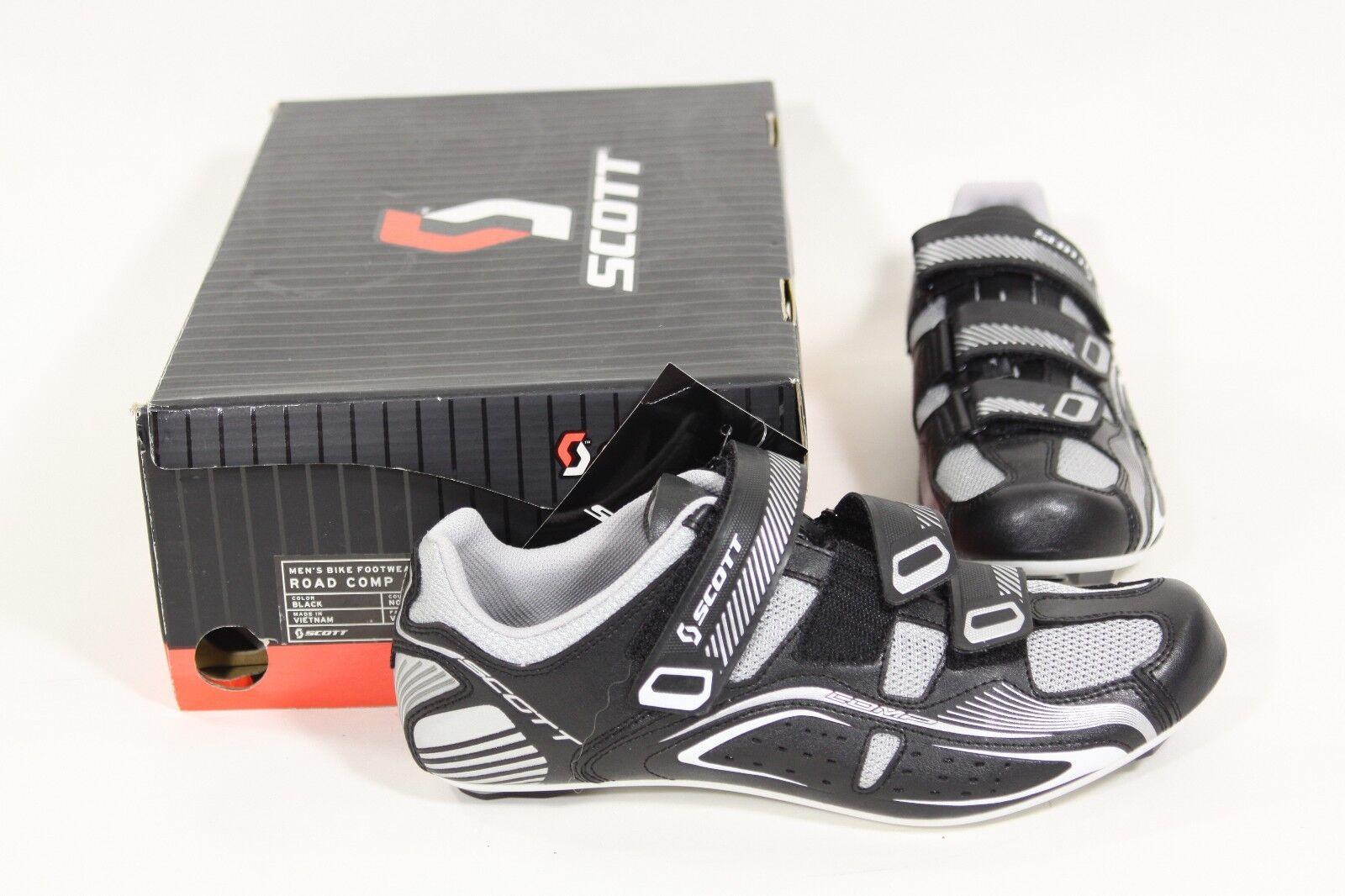 Scott Carretera Compuesta Hombre Bicicleta Zapatos Negros Eu 43 o Us 9.5