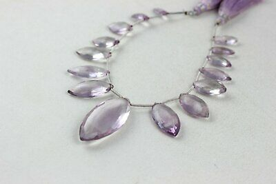 740 Carats,16 Inches Strand,Natural Pink Amethyst  Faceted Rondelles 14-18mm