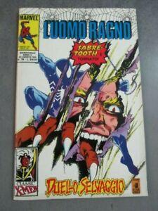 L'UOMO RAGNO n° 78 30 AGOSTO 1991 - ED. STAR COMICS - OTTIMO - NUOVO