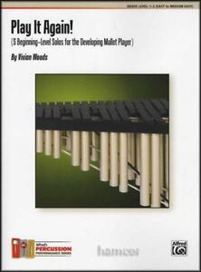 Details about Play It Again! Beginning Solos for the Mallet Player Marimba  Vibraphone