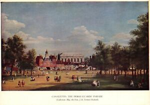 London-Art-Postcard-The-Horse-Guards-039-Parade-by-Antonio-Canaletto-90X
