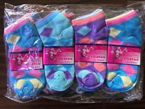 12-Pairs-Womens-Quarter-Ankle-Socks-Multi-Color-Size-9-11-Fashion-Cotton-Casual