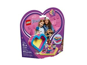 Lego-Friends-41357-D-039-ol-Ivia-Herzbox-Neuf-Emballage-D-039-Origine