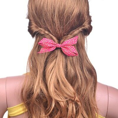 Women's Sweet Bow Bowknot Scrunchie Ponytail Holder For Girls For Thick Hair