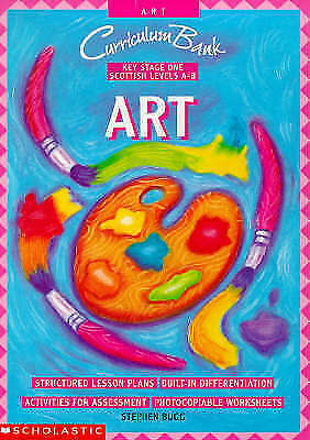 """""""AS NEW"""" Bugg, Stephen, Art KS1 (Curriculum Bank) Book"""