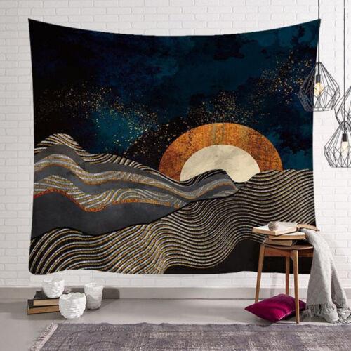 Wandteppich 3D Tapisserie Wandbehang Wandtuch Indische Yoga Strandtuch Tapestry