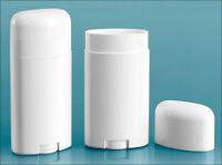 54 Empty White Deodorant Containers Tubes Diy Organic Homemade 2.65 Oz Handmade