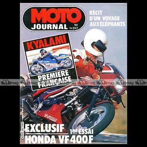 MOTO-JOURNAL-N-597-HONDA-VF-400-SUZUKI-GR-650-YAMAHA-YZ-250-XT-550-XS-1100-1983