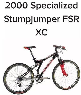 XL Specialized Stumpjumper FSR XC | eBay
