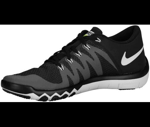 promo code 2c939 78664 Nike Men s Free Trainer 5.0 V6 - Black Dark Grey Volt Black nike free  trainer 5.0 clemson pe NIKE ...