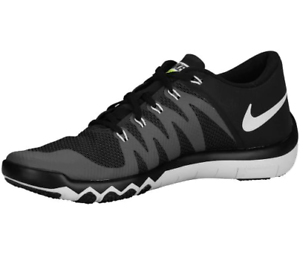 286f5b692731 Nike Men s Free Trainer 5.0 V6 - Black   Dark Grey   Volt   White ...