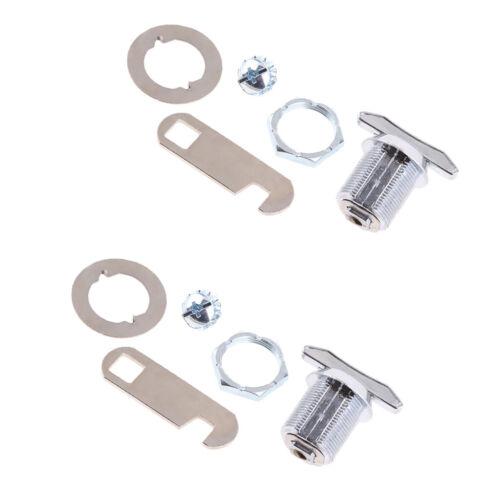 2 x Schließfach Schlüssellos Schloss Sperren Entsperren durch Flügelgriff