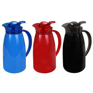 1.5L 1L Thermos Jug Flask Insulated Hot Cold Drinks Water Dispenser Coffee