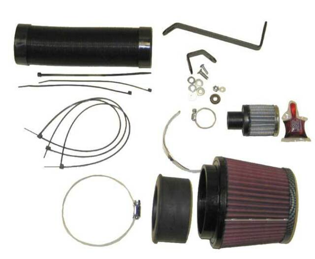 K&N 57i induktions-kit Audi A4 1.8 inkl. Turbo 00-04 57-0593