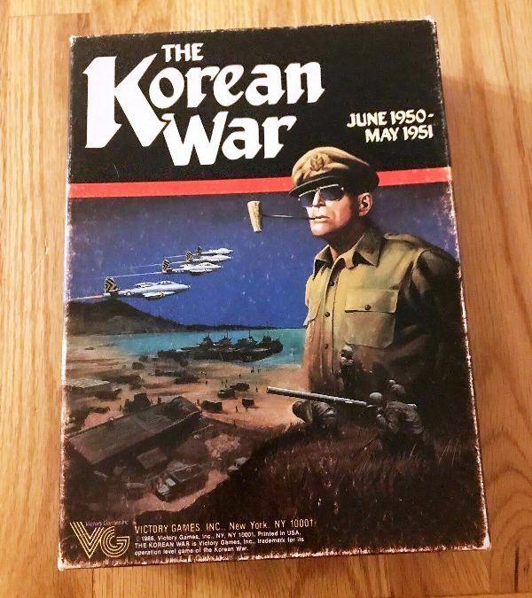 La guerre de Corée par Victory Games, PU en contre-Plateau; bonus  extra joueur SIDA