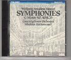 (HH594) Wolfgang Amadeus Mozart, Symphonies G Minor No 40 & 25 - 1984 CD