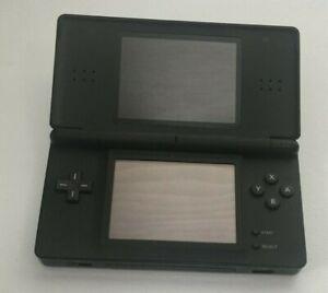 Nintendo DS Lite W/Charger USG-001- Onyx Black - GOOD CONDITION