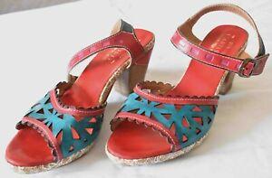 Spring-Step-L-ARTISTE-Acela-Open-Toe-Shoes-Sandals-US-9-EU-40-UK-7