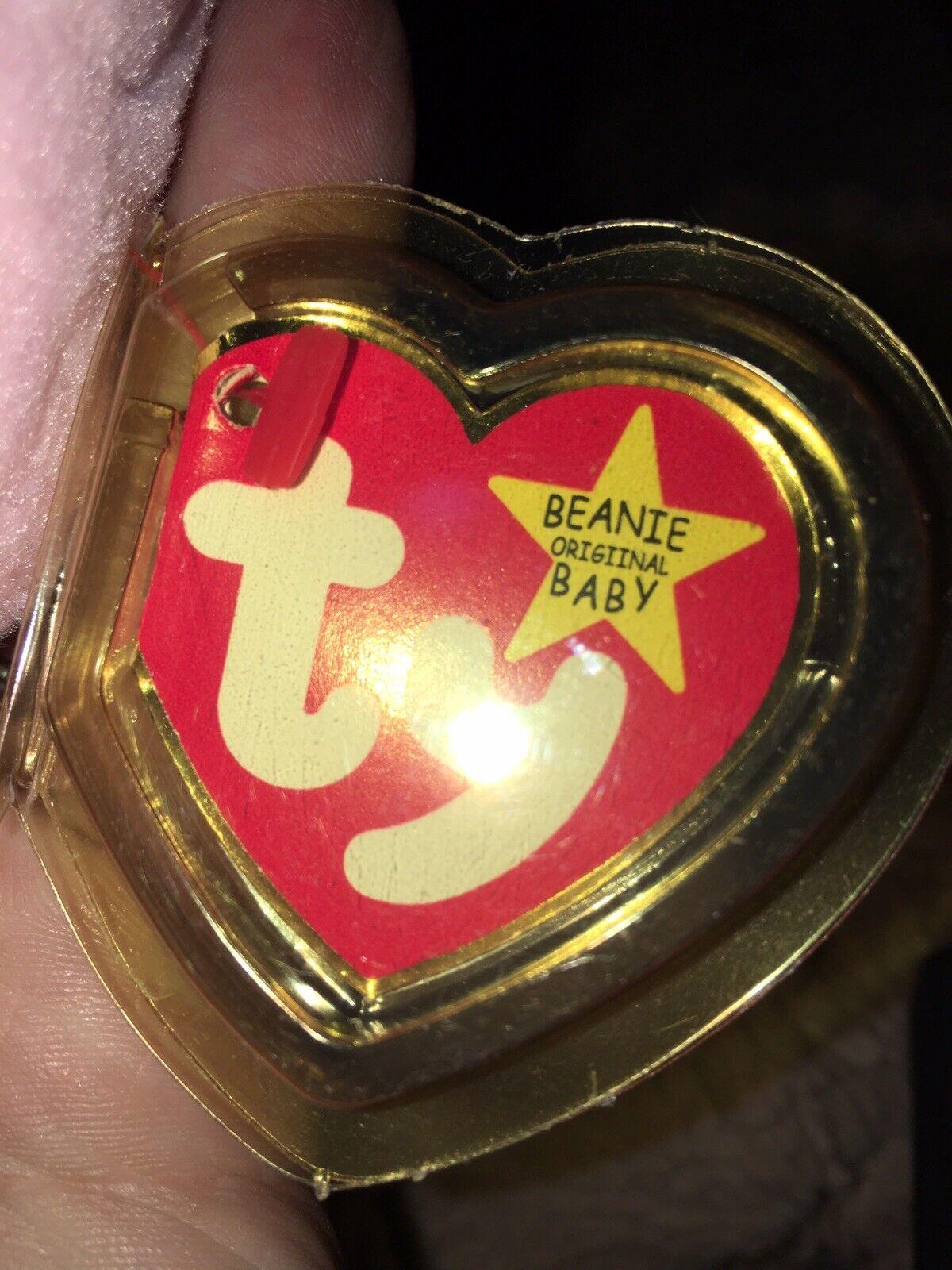 "Ty Original Beanie Babies ""Hoppity"" ""Hoppity"" ""Hoppity"" with Tag Errors in Perfect Condition cb4ba2"