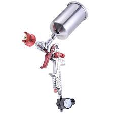 1.3 mm HVLP Gravity Feed Spray Gun Auto Paint w/ Gauge Base Clear Primer Nozzle