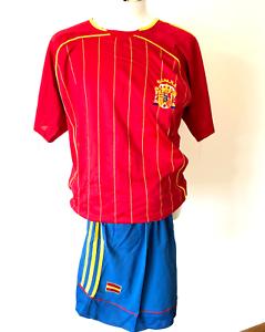 Spanien Trikot Hose Short Rot Espana Nationalteam Fussballtrikot Jersey Neu
