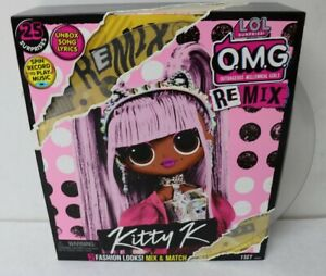 LOL-Surprise-OMG-Remix-Kitty-K-25-Surprises-Doll-New